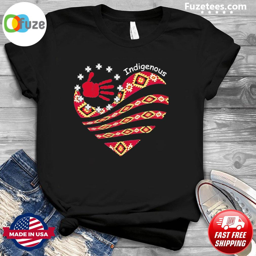 Heart Indigenous shirt