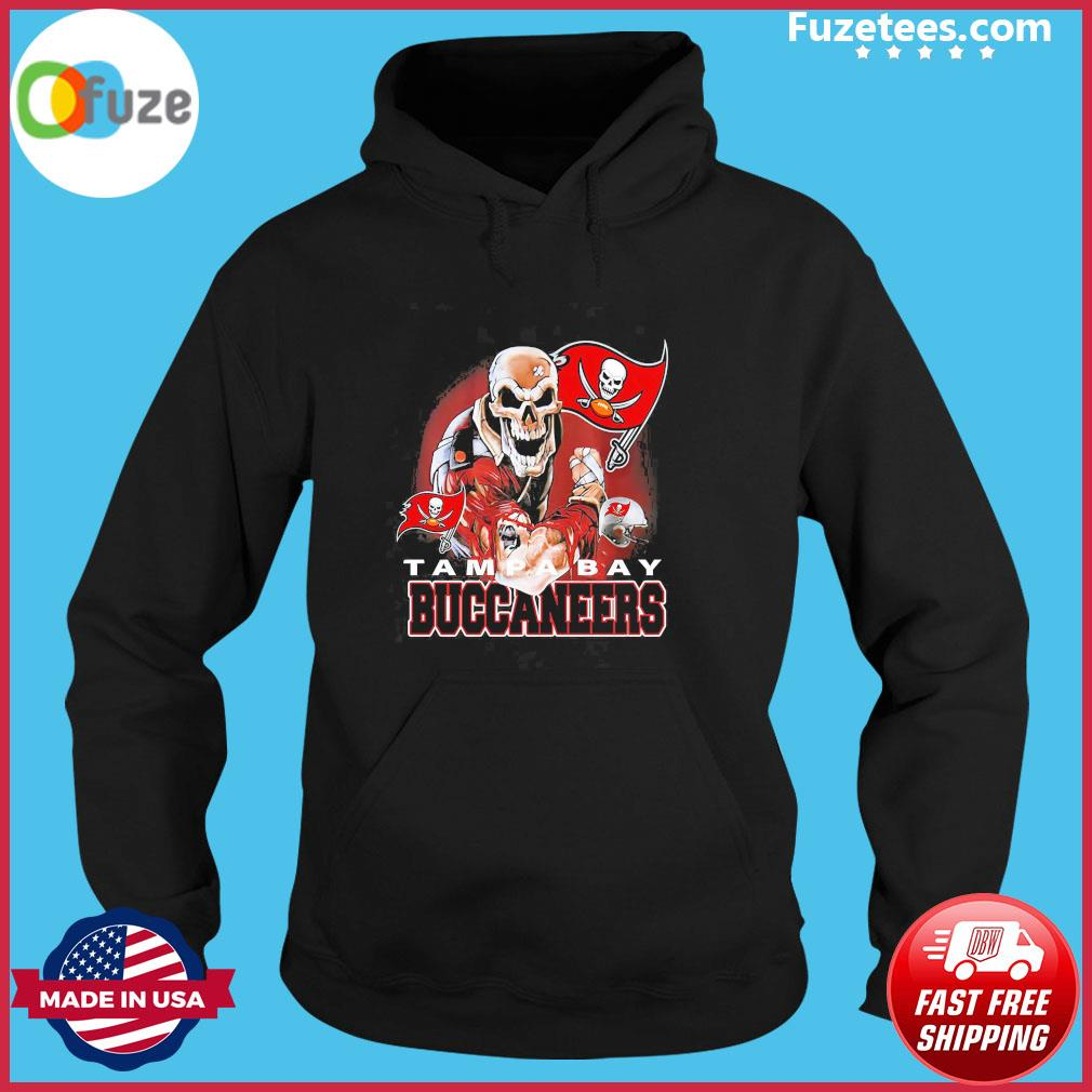 Skeleton Tampa Bay Buccaneers Liv Super Bowl 2021 s Hoodie