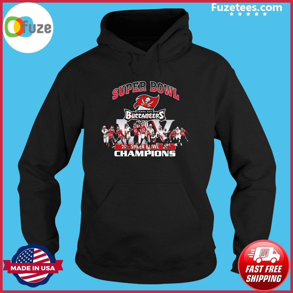 Super Bowl Tampa Bay Buccaneers 2021 super bowl Champions s Hoodie