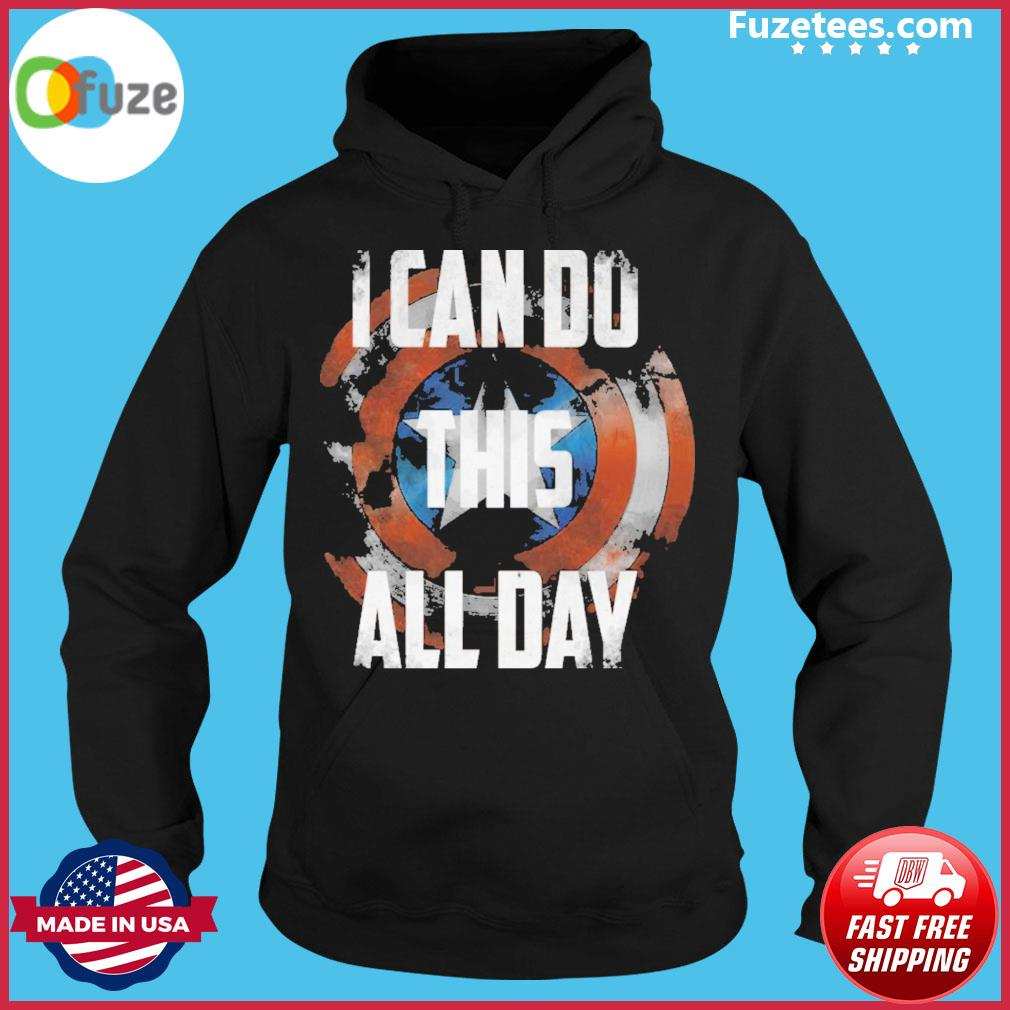 Captain america I can do this all day 2021 Hoodie