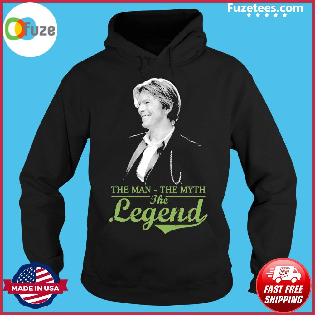 David Bowie the man the myth the legend Hoodie