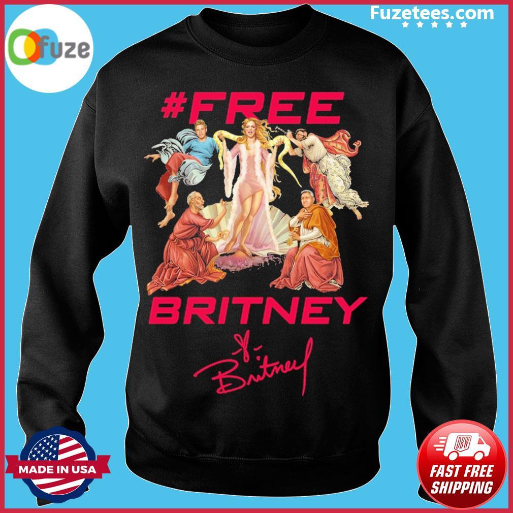#Free Britney signatures Sweater