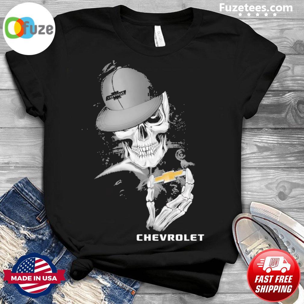 Skeleton and Smoking Chevrolet 2021 shirt