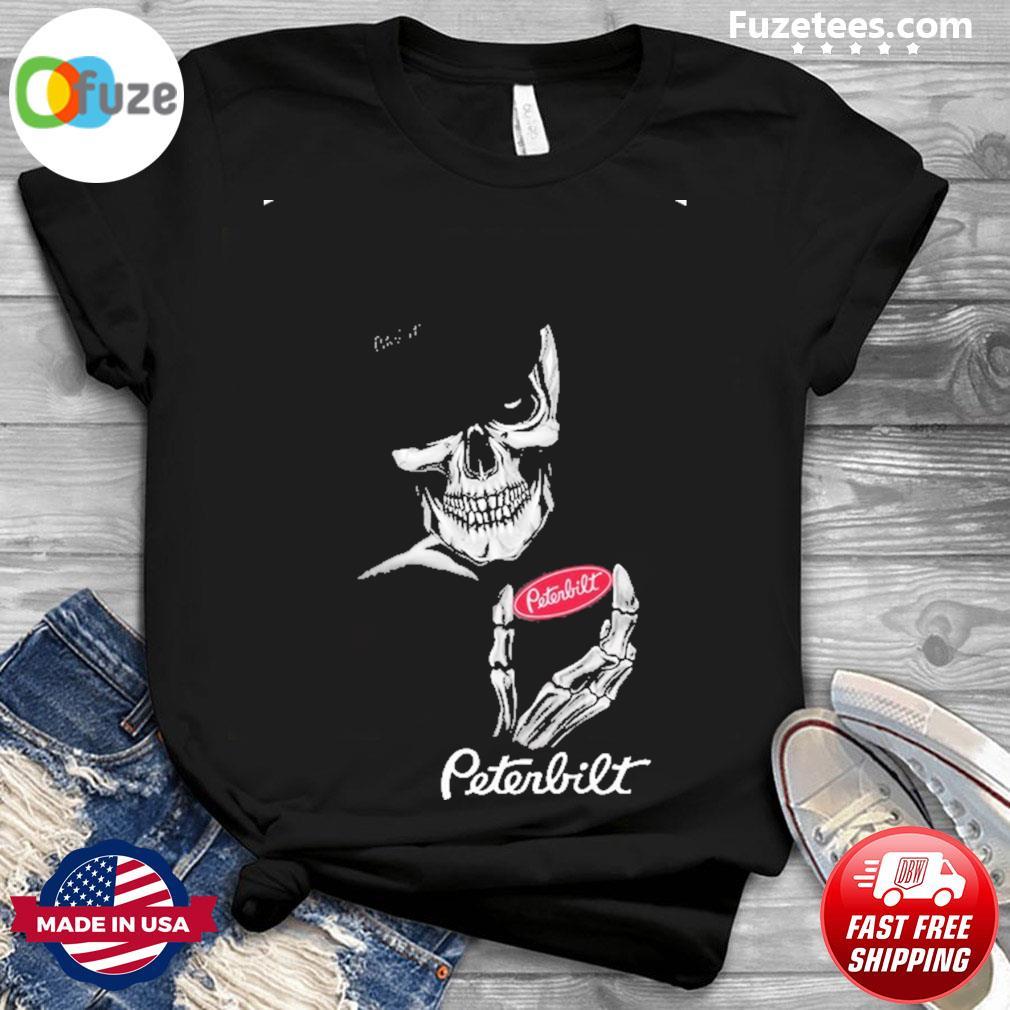 Skeleton and Smoking Peterbilt 2021 shirt