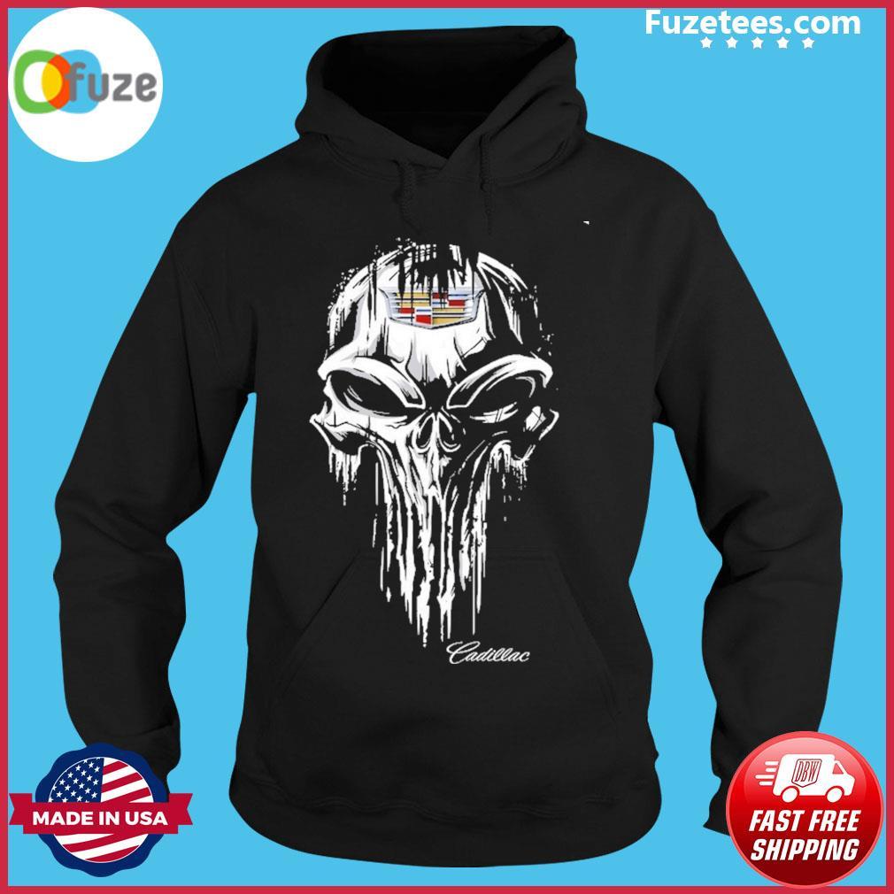 Skull Cadillac Hoodie