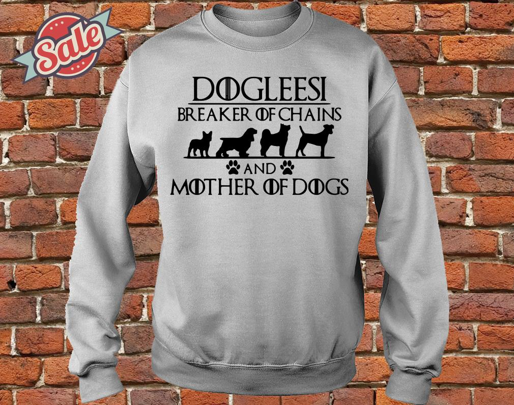Game of Thrones Dogleesi breaker of and mother of dogs sweater