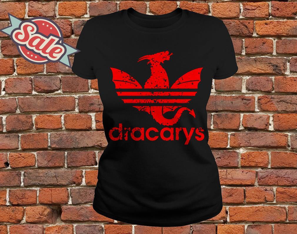 Game Of Thrones Dracarys Adidas ladies tee