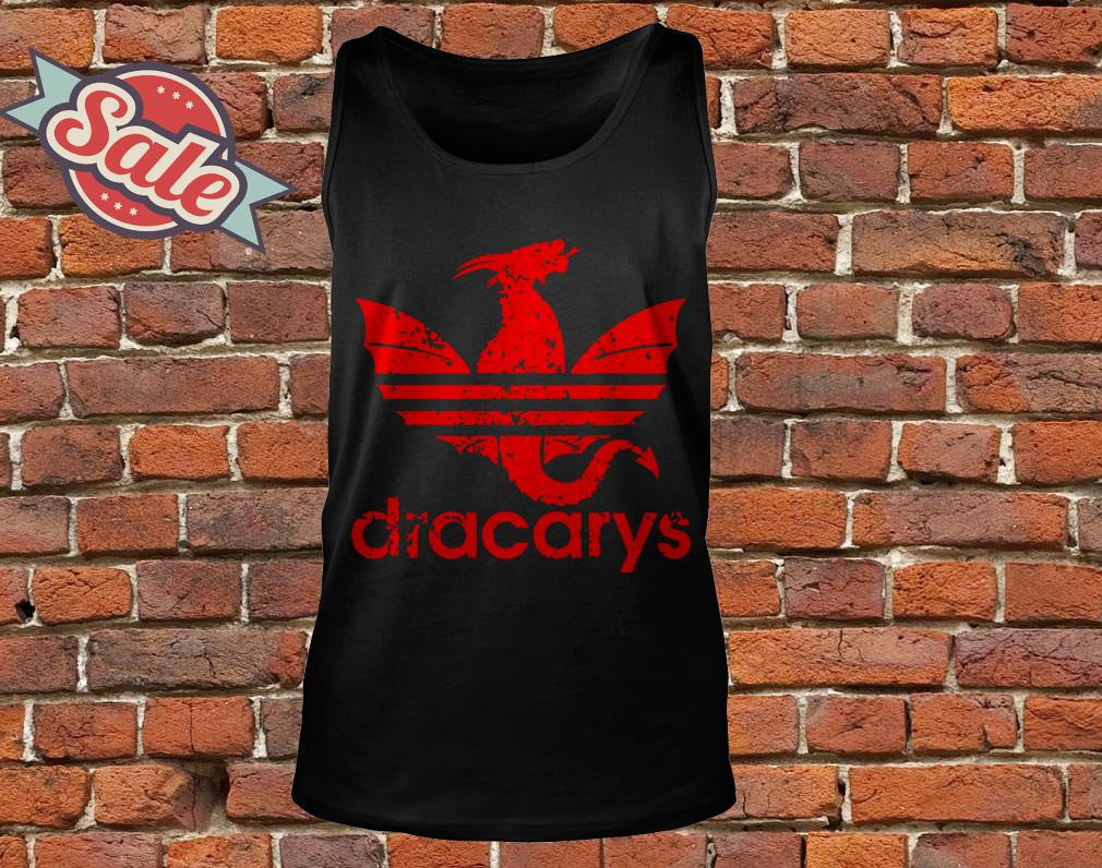 Game Of Thrones Dracarys Adidas tank top