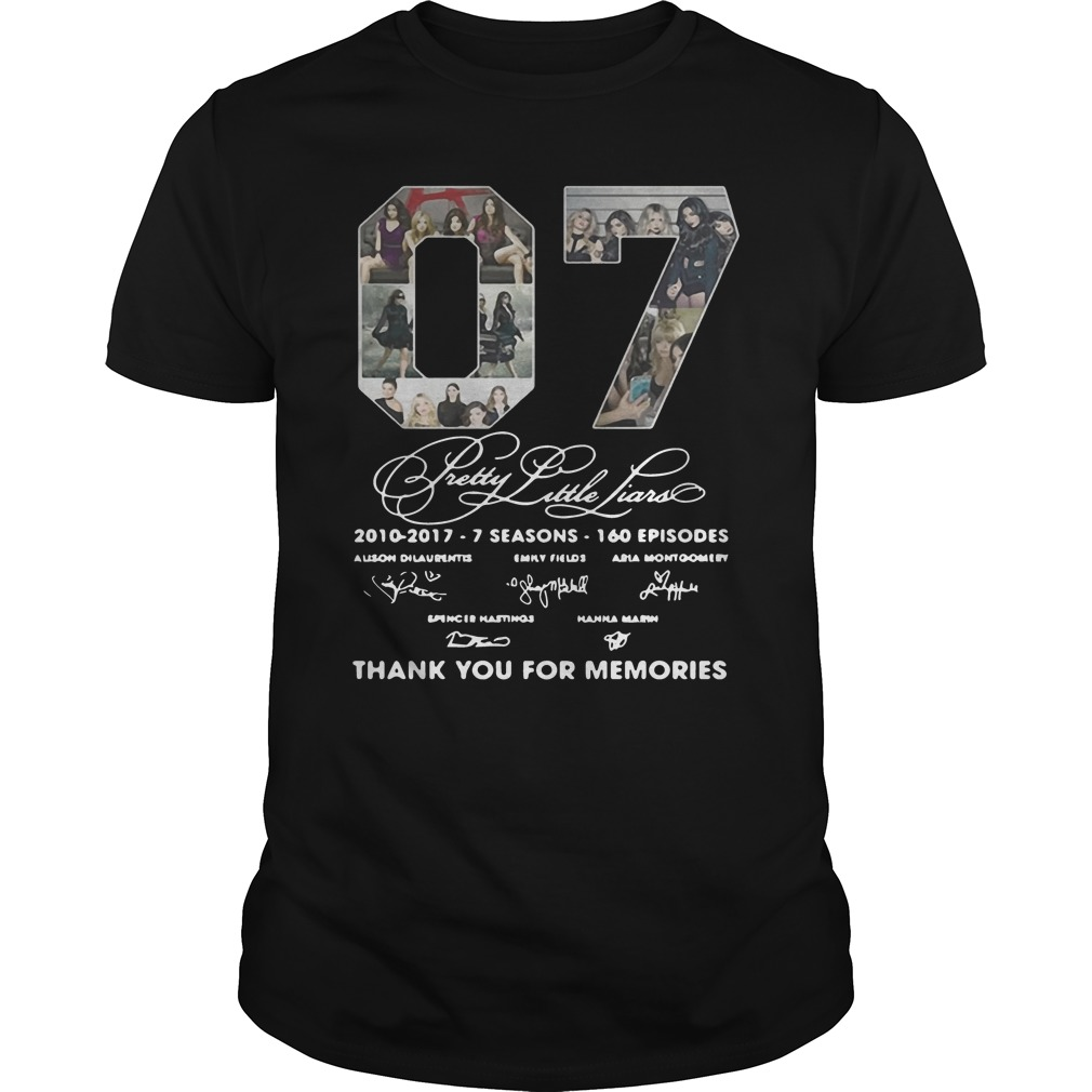 07 Pretty Little Liars Thank You For Memories Shirt