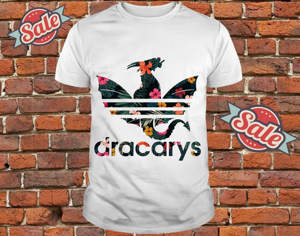 Floral Game Of Thrones Adidas Dracarys Shirt, hoodie, tank