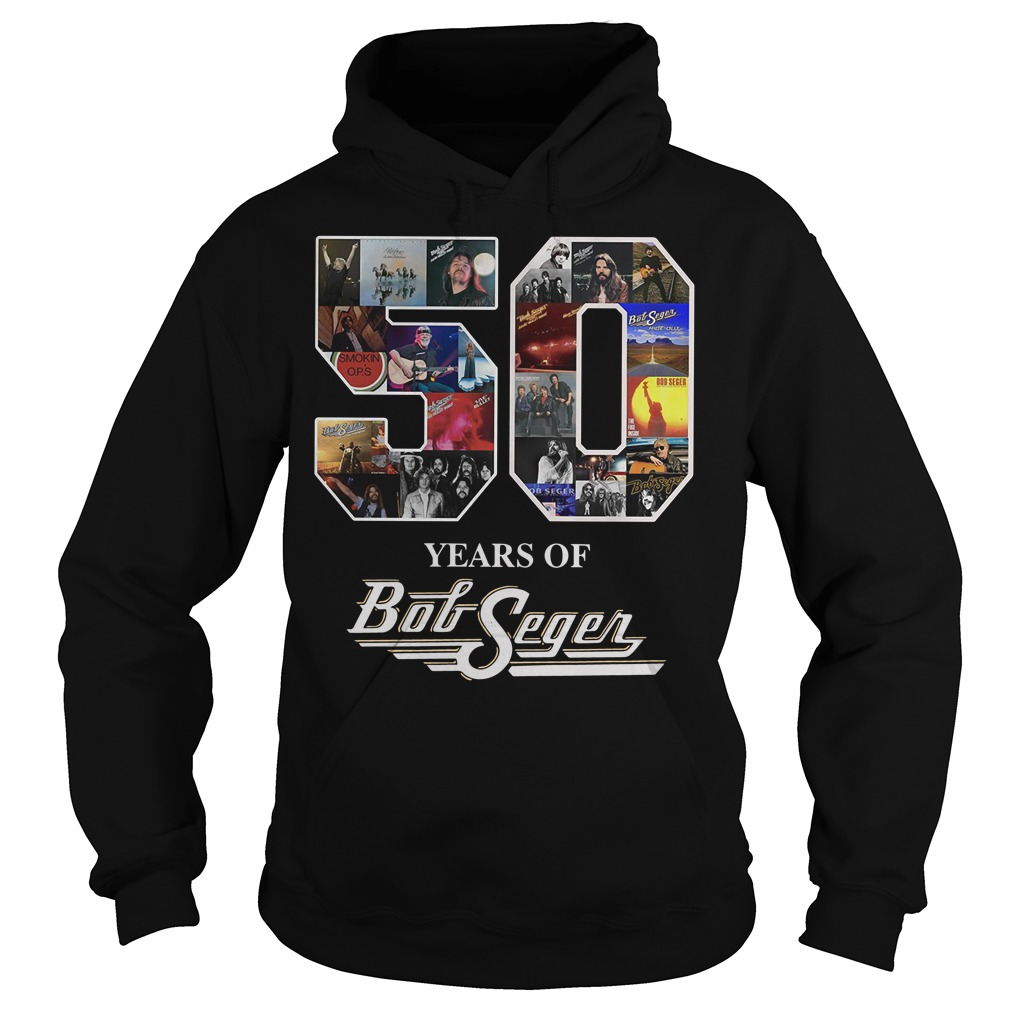 50 year of Bob Seger thank you for the memories hoodie