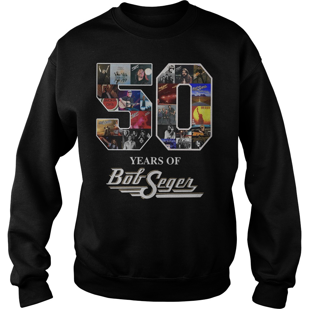 50 year of Bob Seger thank you for the memories sweater