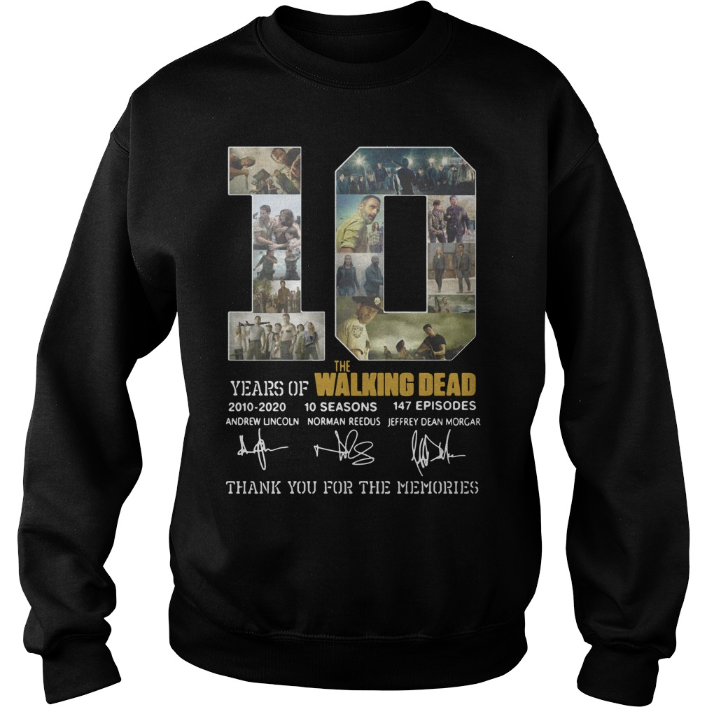 10 Years Of The Walking Dead sweater