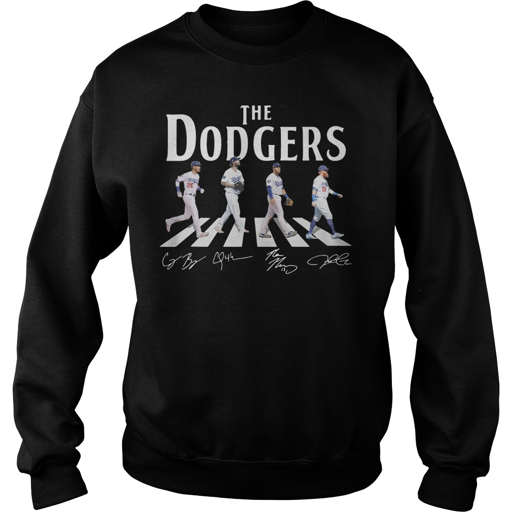 The Dodgers Walking Road sweater