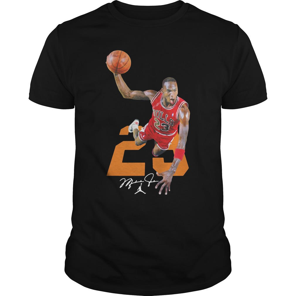 half off d22d0 af9b8 Michael Jordan 23 Bulls Jersey Signature Shirt, hoodie, tank ...