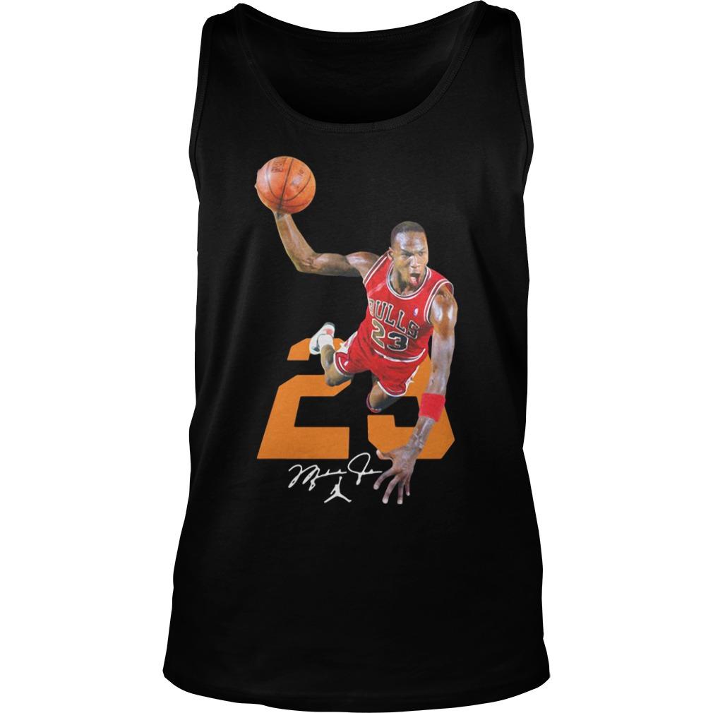 half off cba9d 69c9d Michael Jordan 23 Bulls Jersey Signature Shirt, hoodie, tank ...