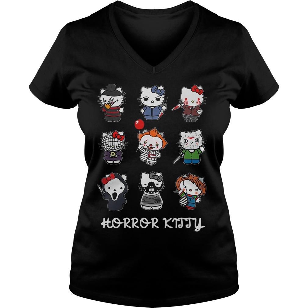 Hello Kitty Horror characters Horror Kitty ladies tee