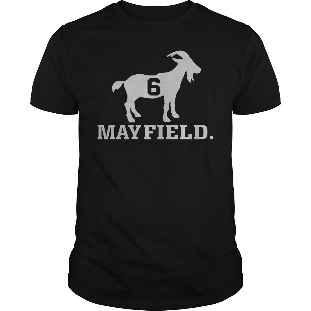 Official Sheep Baker Mayfield 6 shirt