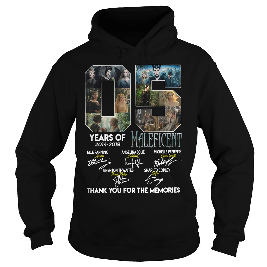 05 Years of Maleficent thank you for the memories hoodie