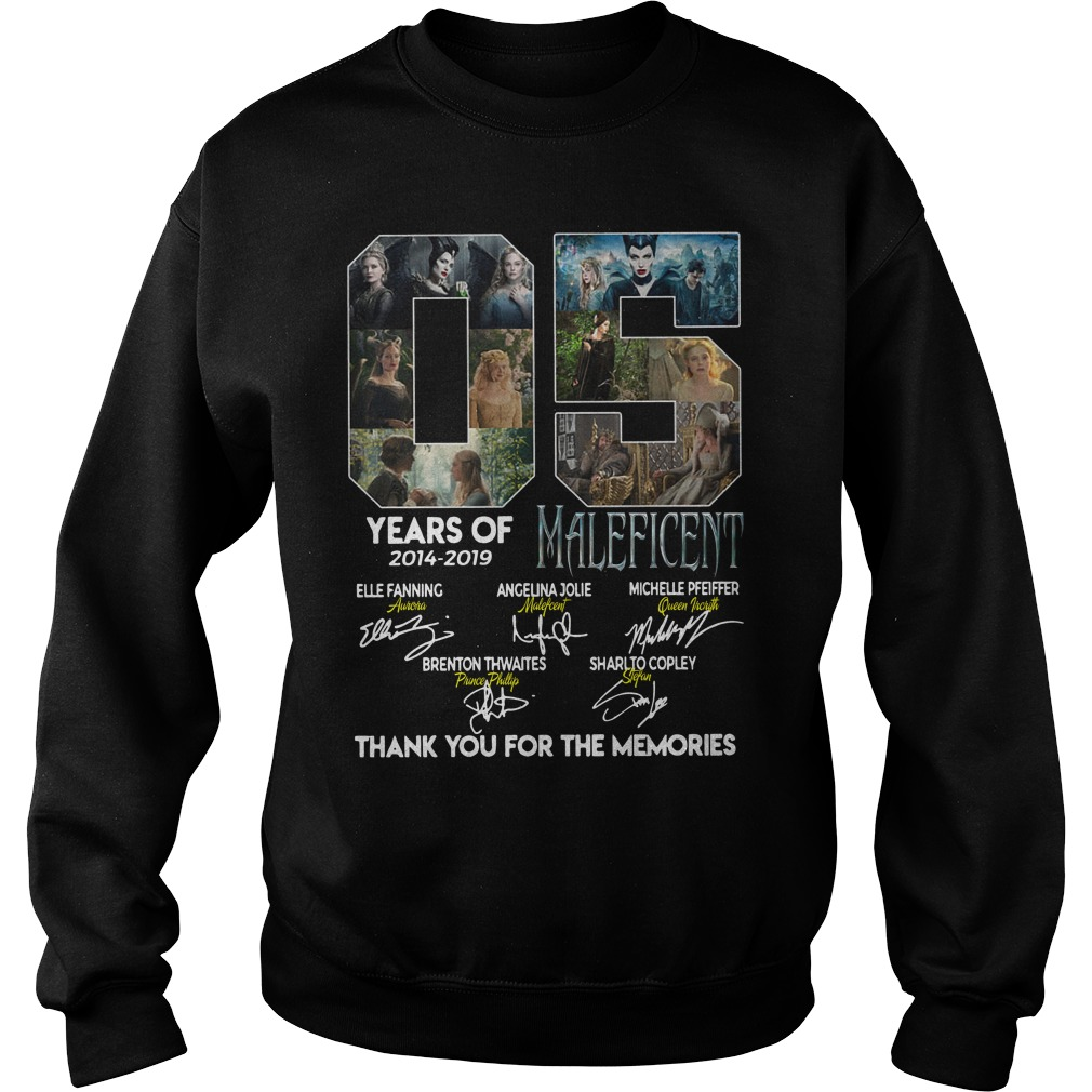05 Years of Maleficent thank you for the memories sweater