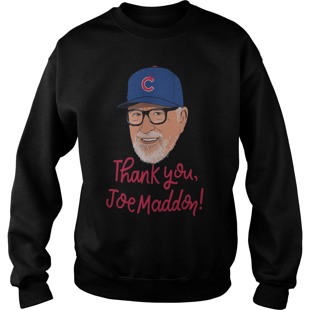 Chicago Cubs Thank you Joe Maddon sweater