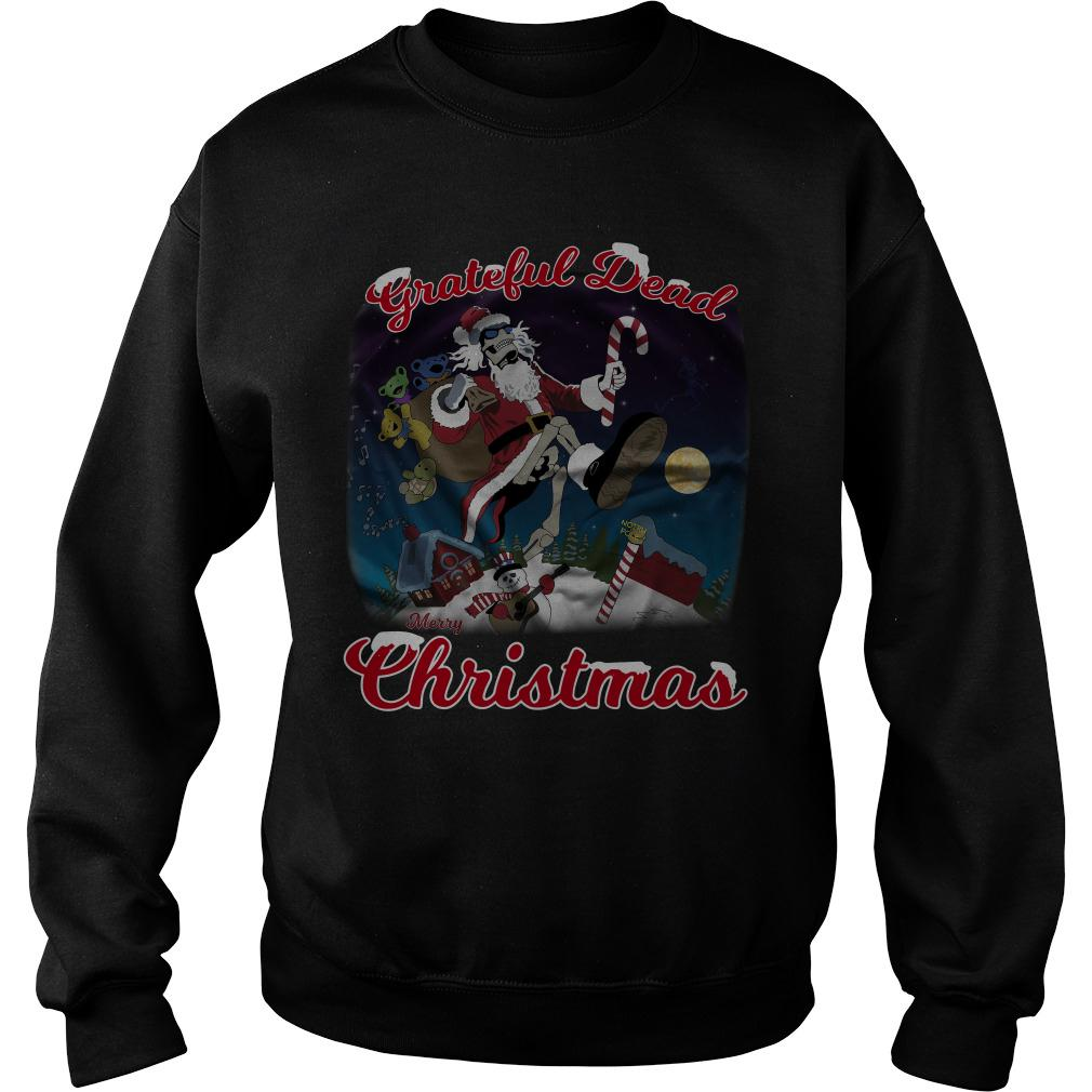 Grateful Dead Merry Christmas Sweater