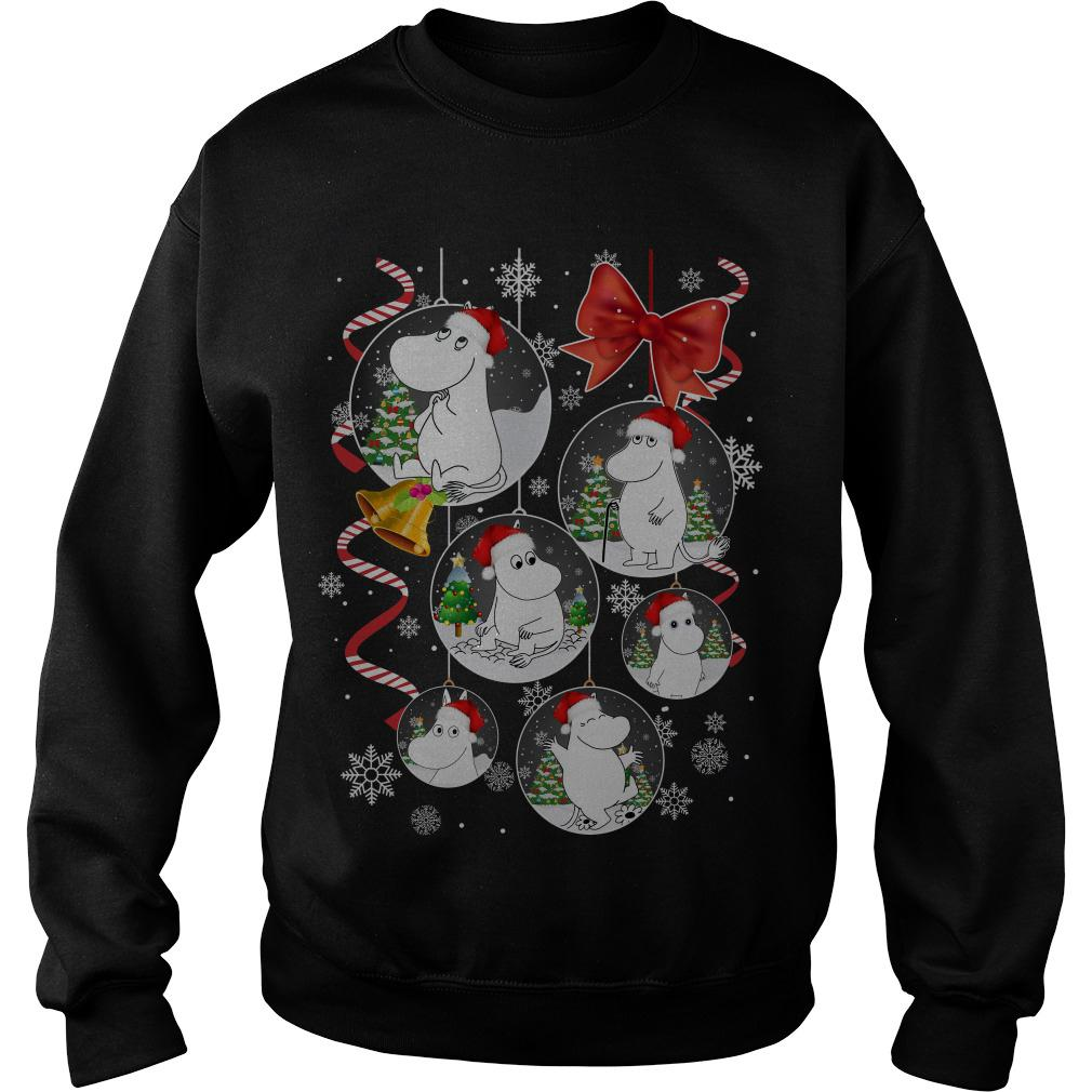 Moomin Christmas ornament sweater