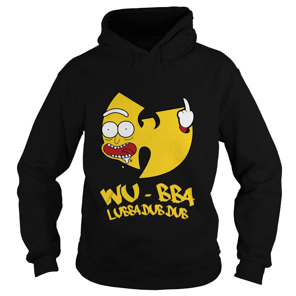 Rick Sanchez Wu Tang Wubba Lubba Dub Dub hoodie