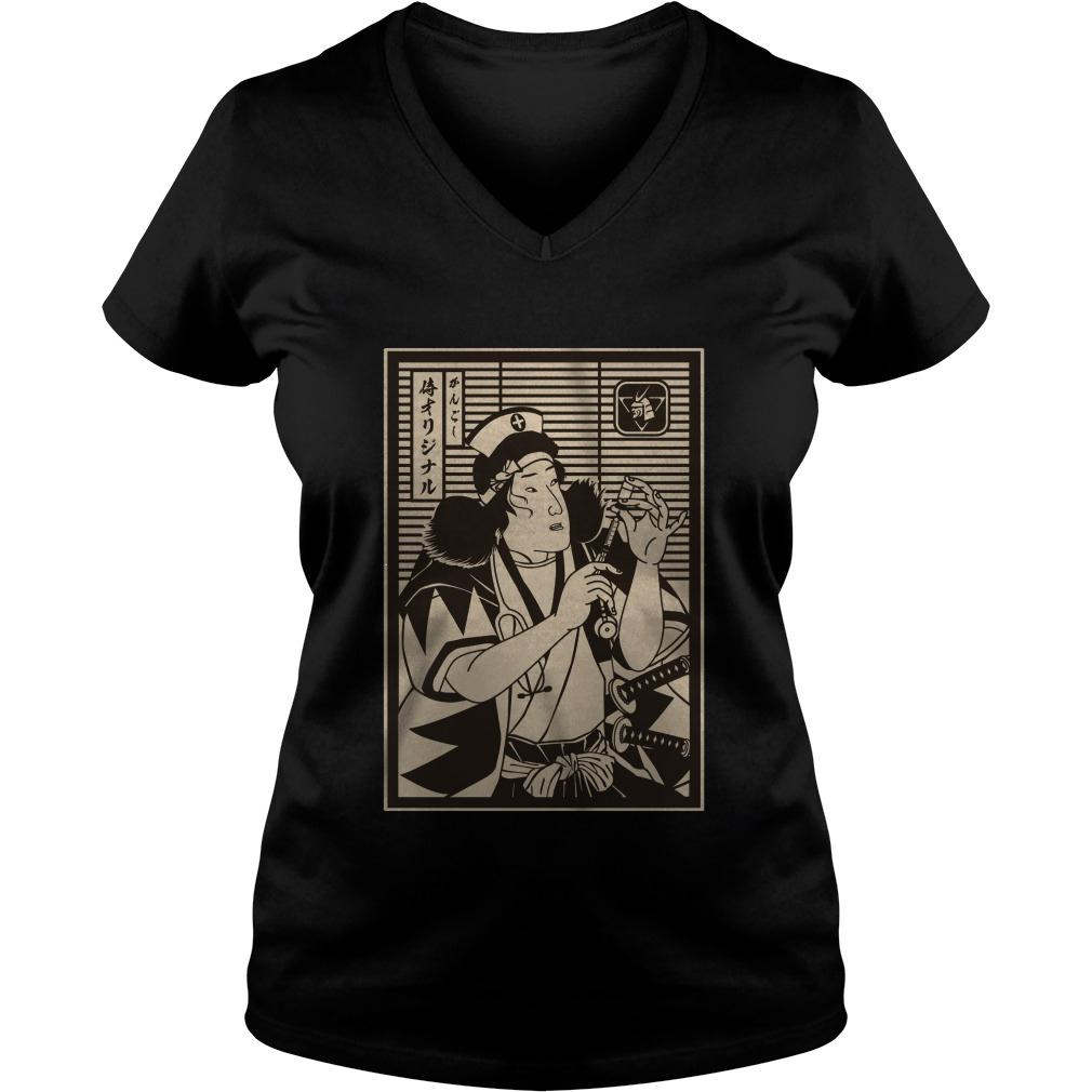 Samurai Nurse ladies tee