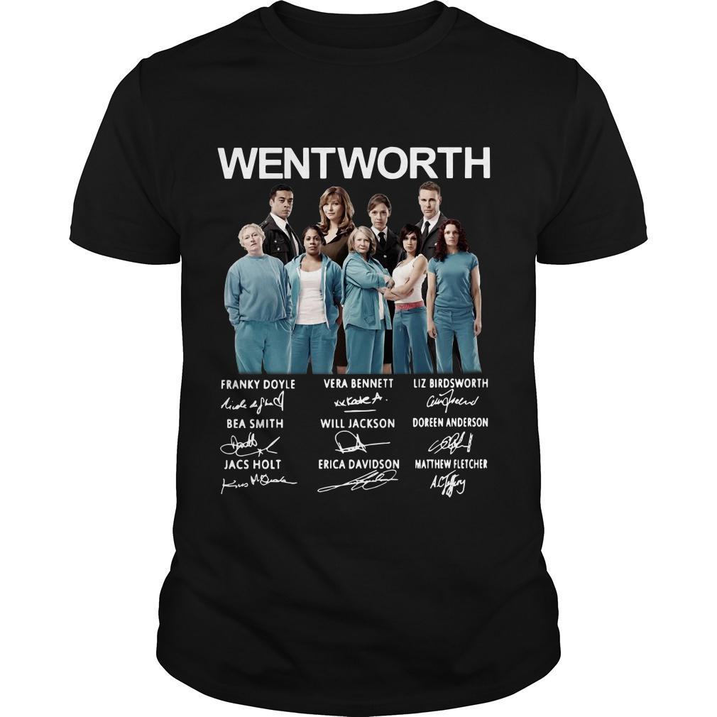 Wentworth Franky Doyle Vera Bennett Liz Birdsworth Bea Smith signature shirt