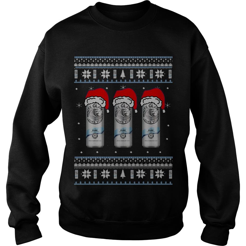 White Claw Pure Ugly Christmas sweater
