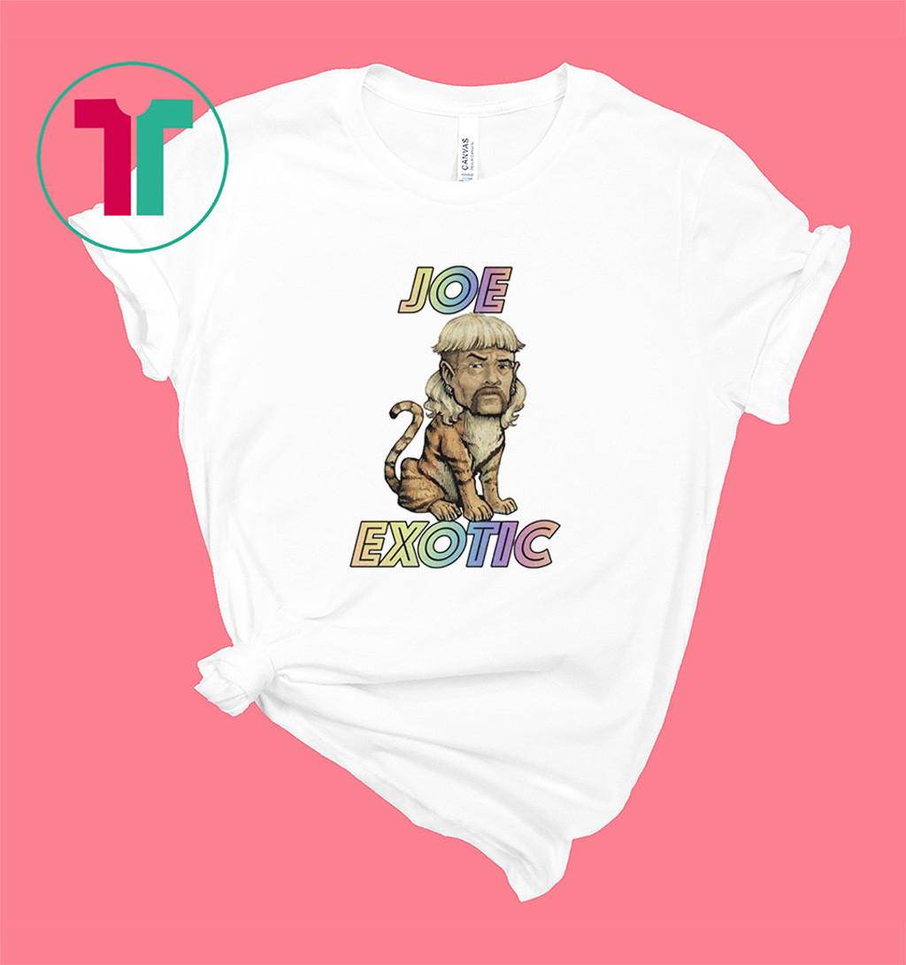 The Tiger King Joe Exotic Caricature T-Shirt Shirt