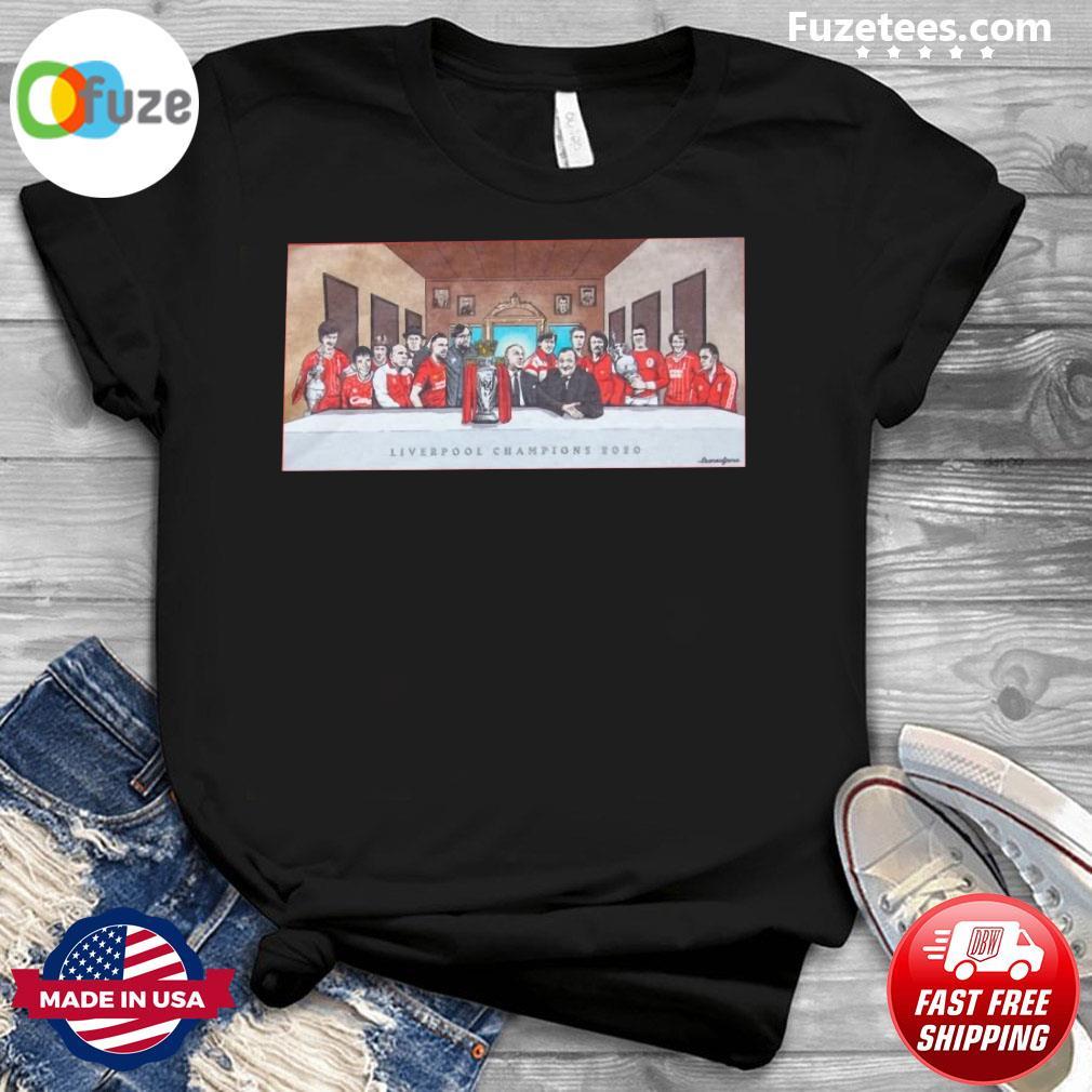Liverpool Champions 2020 Shirt