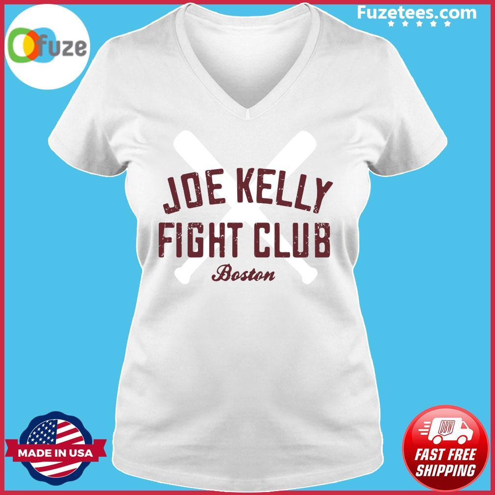 Joe Kelly Fight Club Boston T-Shirt Ladies V-neck