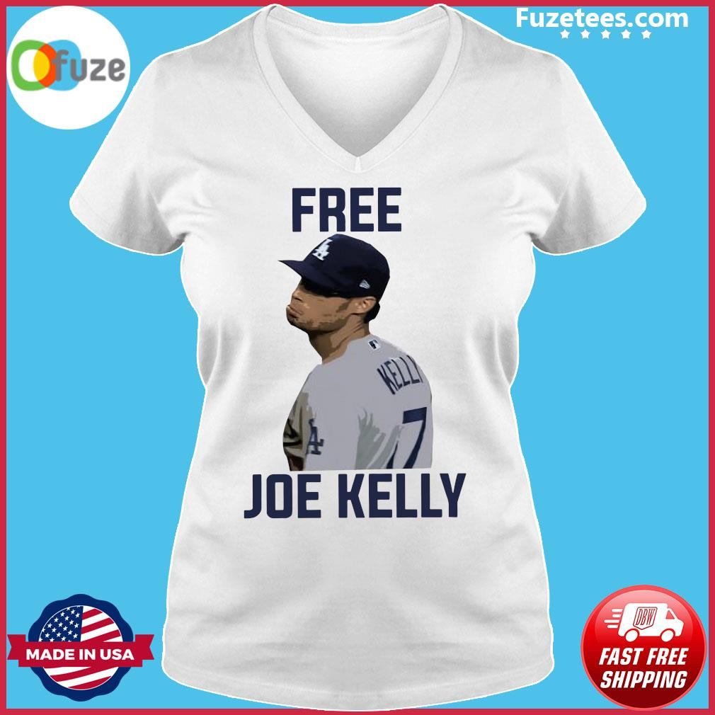 Free Joe Kelly Shirt Ladies V-neck