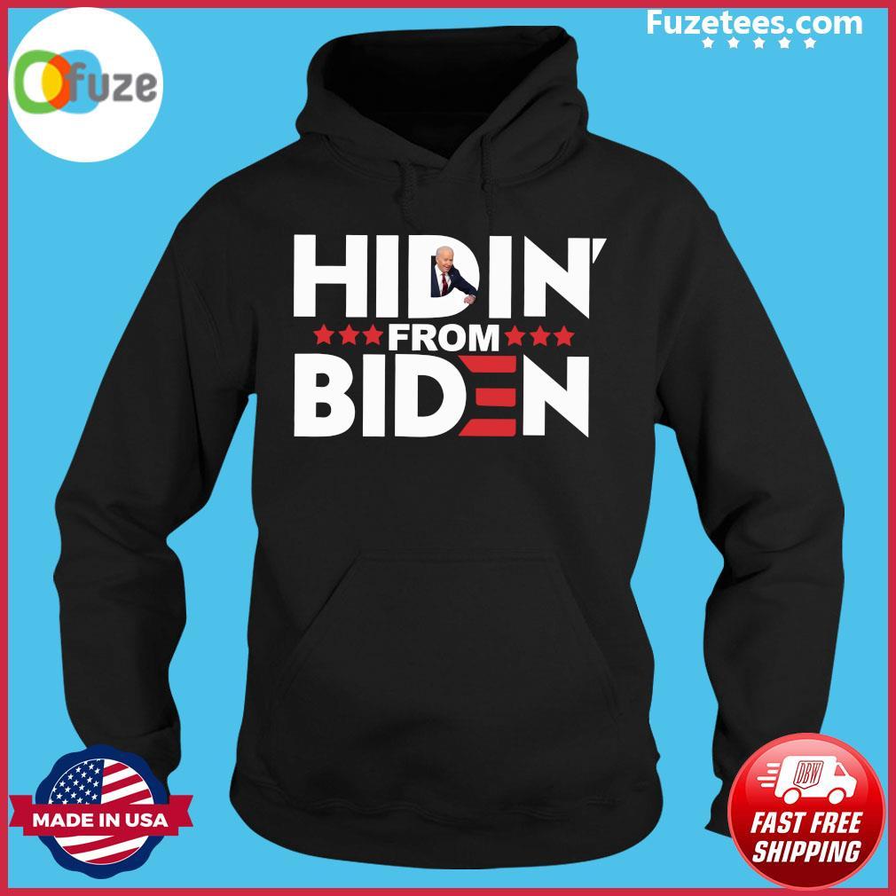 Hiden' from biden s Hoodie