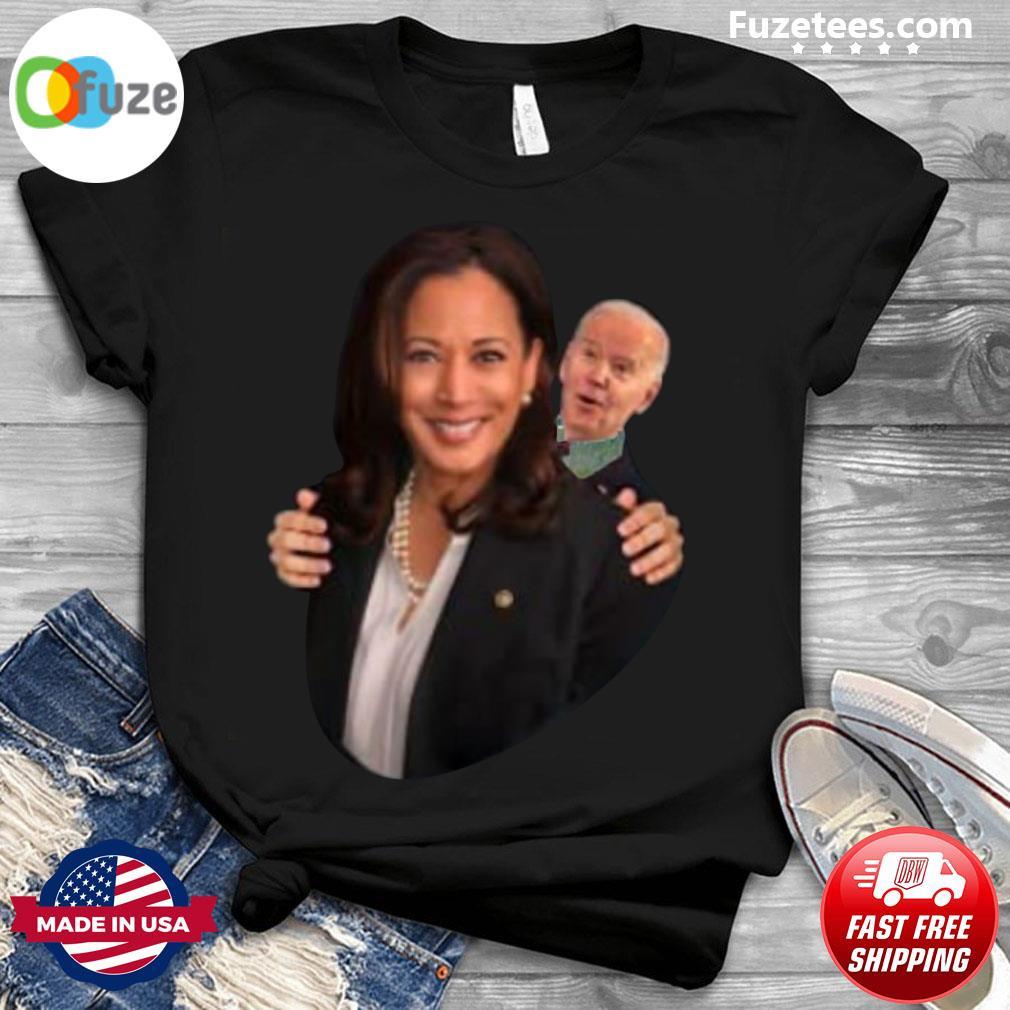 Joe Biden Sniff Kamala Harris President 2020 Shirt Fuzetee