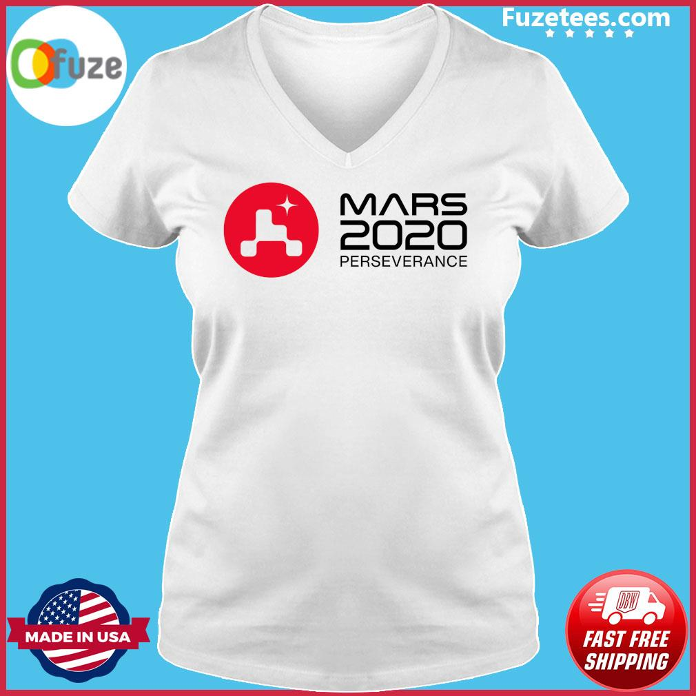 Mars 2020 Perseverance Rover Launch Day Commemorative Official T-Shirt Ladies V-neck