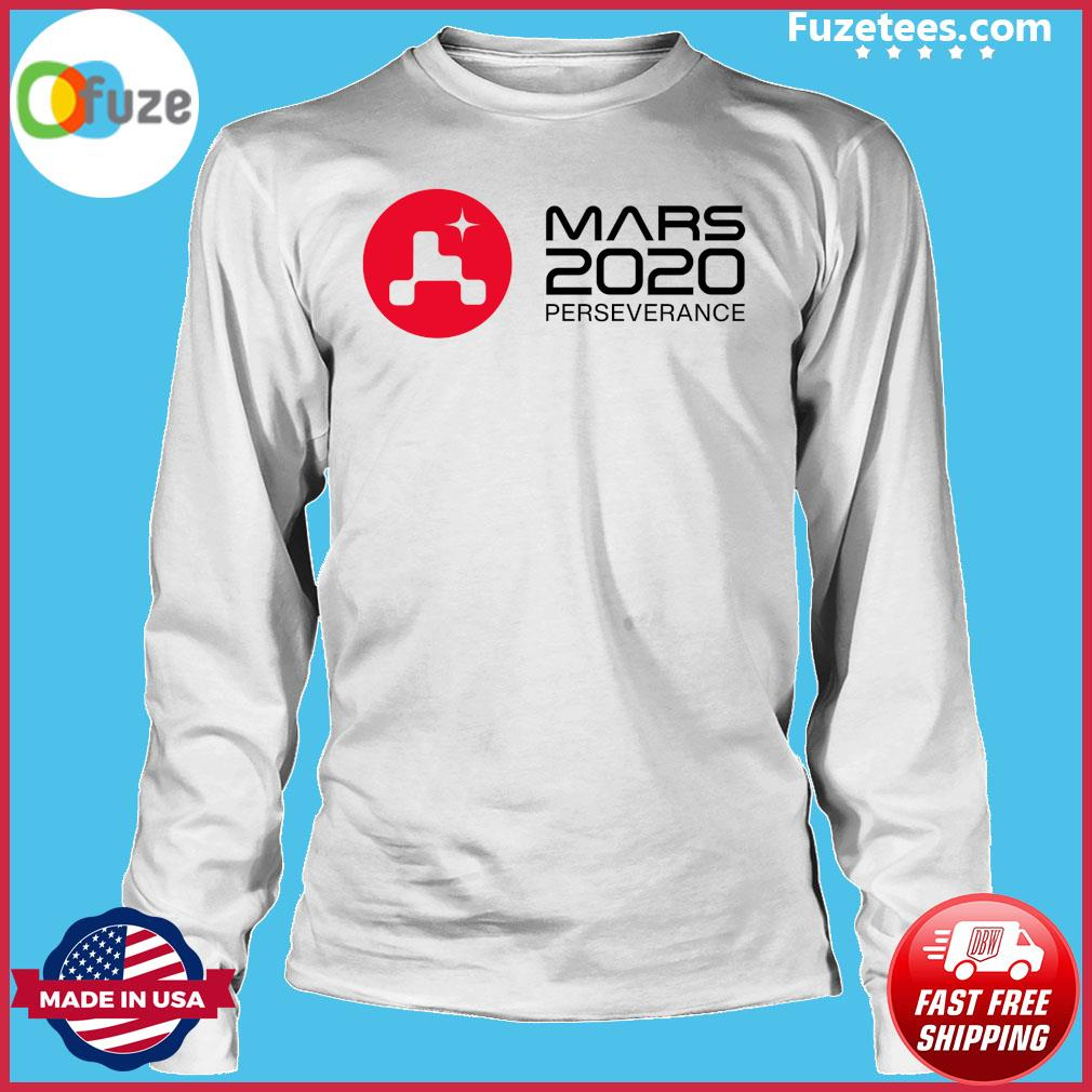 Mars 2020 Perseverance Rover Launch Day Commemorative Official T-Shirt Long Sleeve