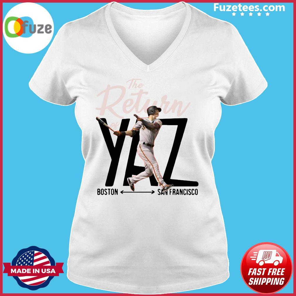 Mike Yastrzemski Yaz Boston San Francisco Shirt Ladies V-neck