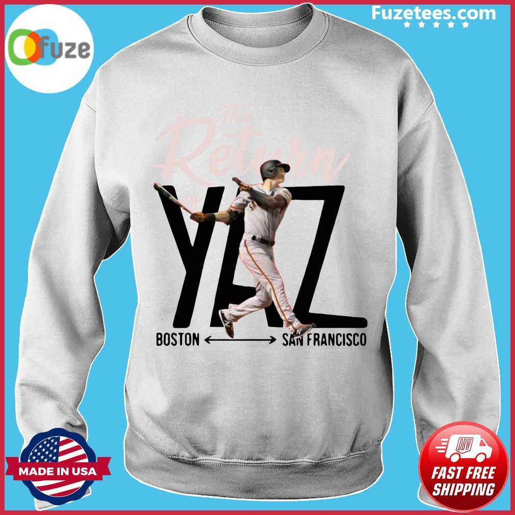 Mike Yastrzemski Yaz Boston San Francisco Shirt Sweater