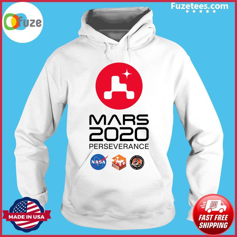 NASA Mars Rover Perseverance T-Shirt Hoodie