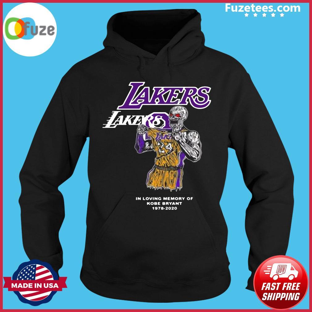 Warren Lotas La Lakers Kobe Bryant Warren Lotas In Loving Memory Of Kobe Bryant 1978 2020 Official T-Shirt Hoodie