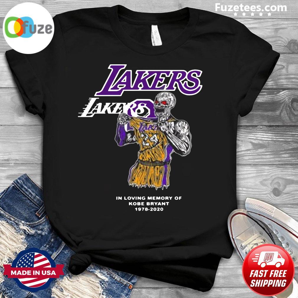Warren Lotas La Lakers Kobe Bryant Warren Lotas In Loving Memory Of Kobe Bryant 1978 2020 Official T-Shirt