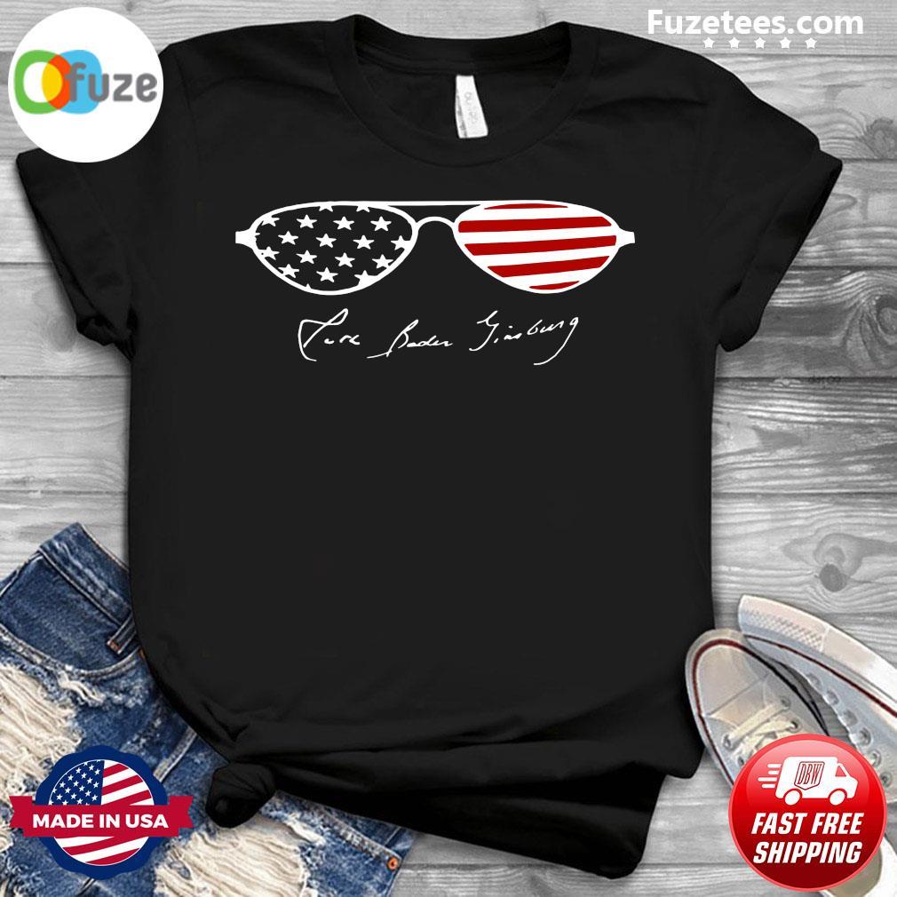 Glasses American Flag Pure Biden Jiadong Shirt