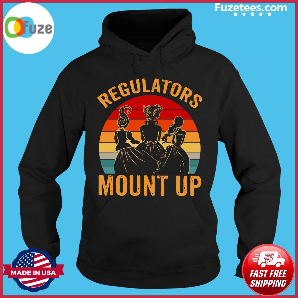 Hocus Pocus Regulators Mount Up Vintage Retro Shirt Hoodie