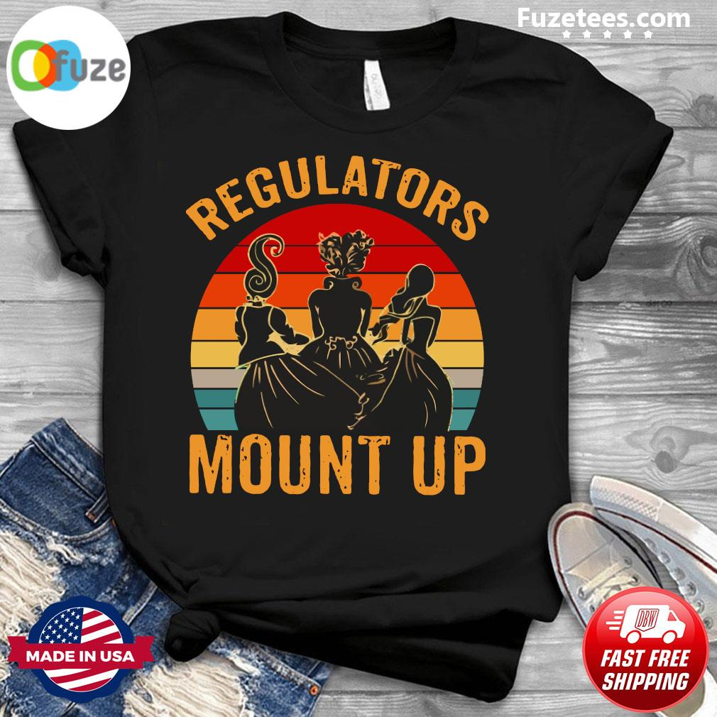 Hocus Pocus Regulators Mount Up Vintage Retro Shirt