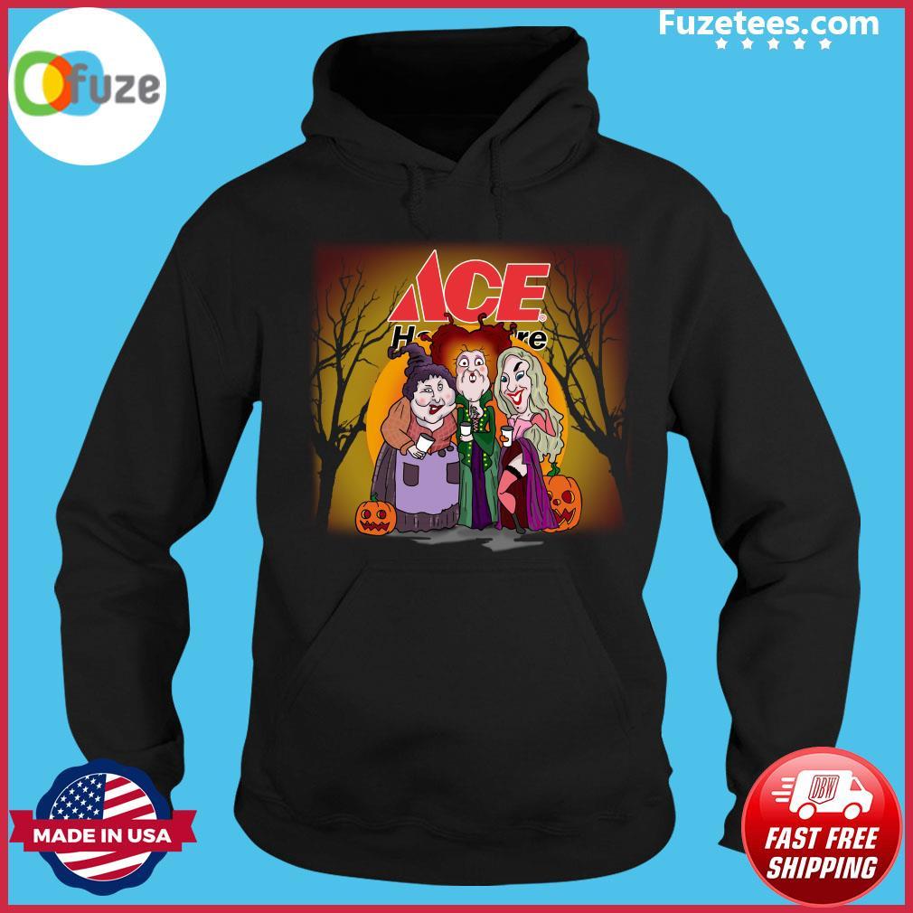 Hocus Pocus Sanderson Sisters ACe Hardware Halloween Pumpkin Shirt Hoodie