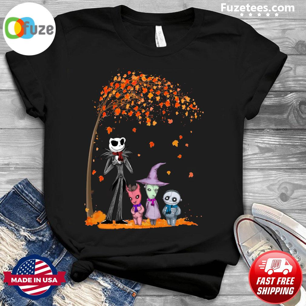 Jack Skellington And Friend Halloween Shirt