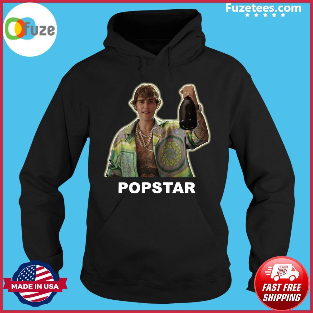 Justin Bieber Popstar Shirt Hoodie
